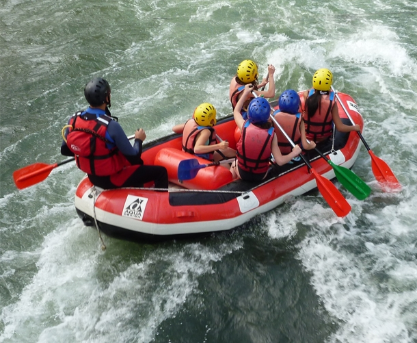 rafting groupe hautes alpes