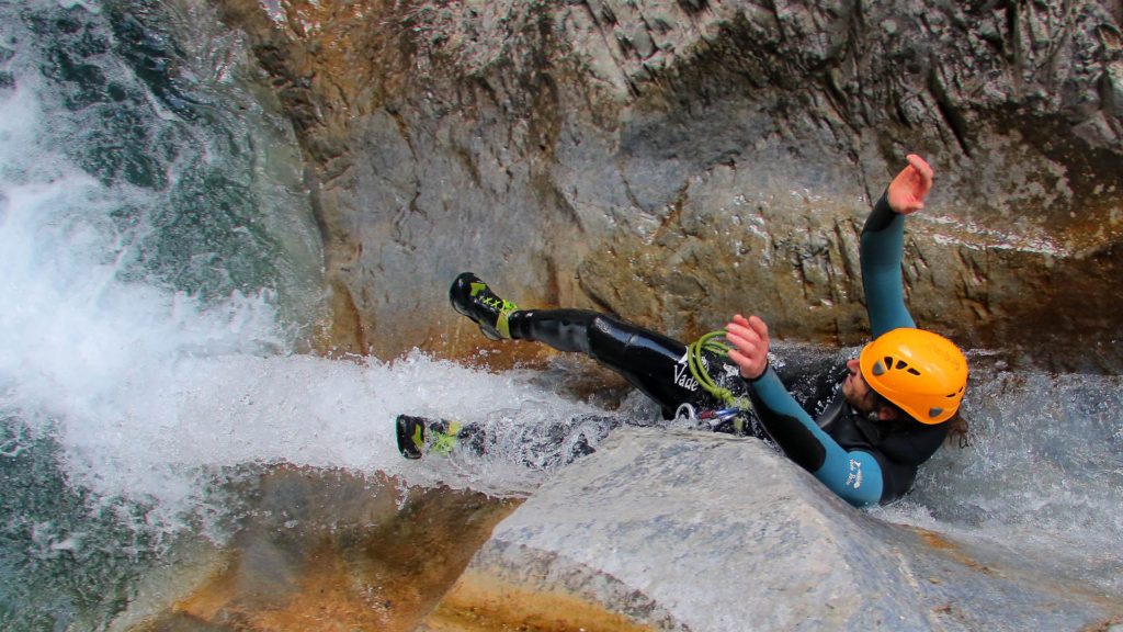 Canyoning Briançon rappel