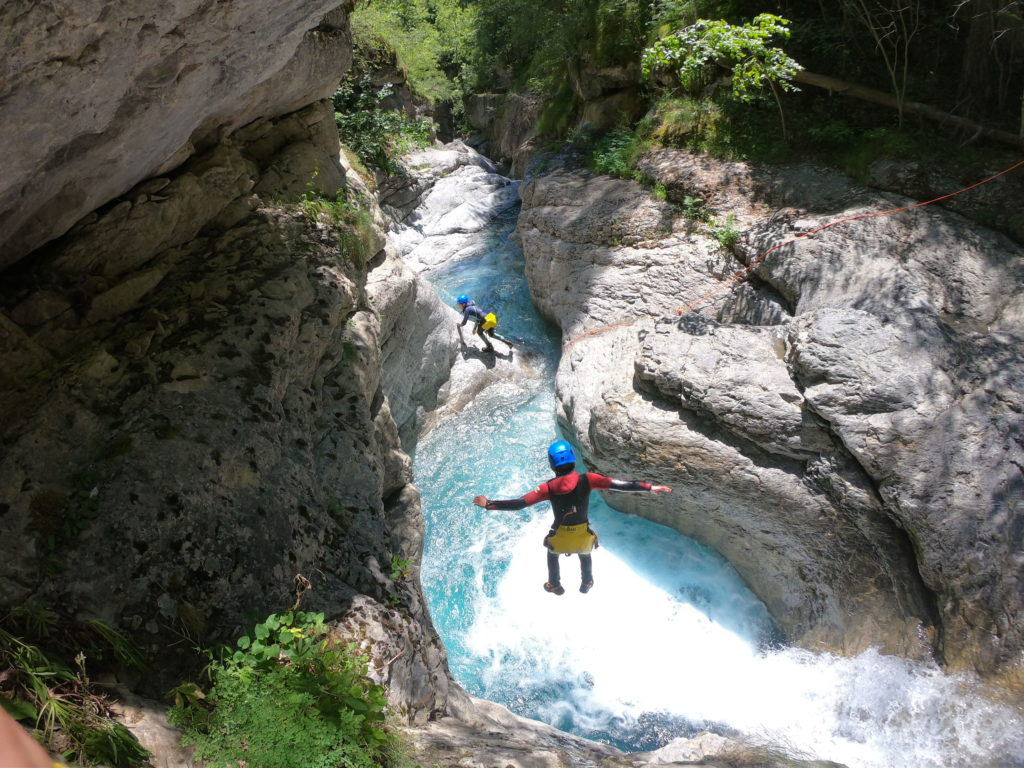 CANYONING HAUTES ALPES LE FOURNEL PARTIE 1